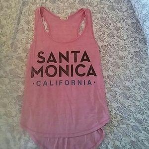 Santa Monica California Tank